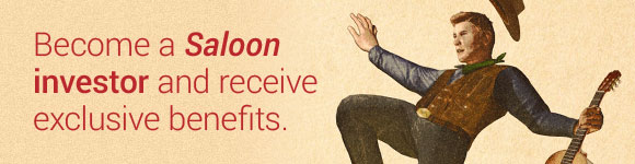 Become a Saloon investor and receive exclusive benefits.