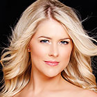 Headshot of Celtic Woman singer.