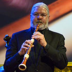 John Abberger, principal oboist with Tafelmusik Baroque Orchestra, performs with the ensemble.