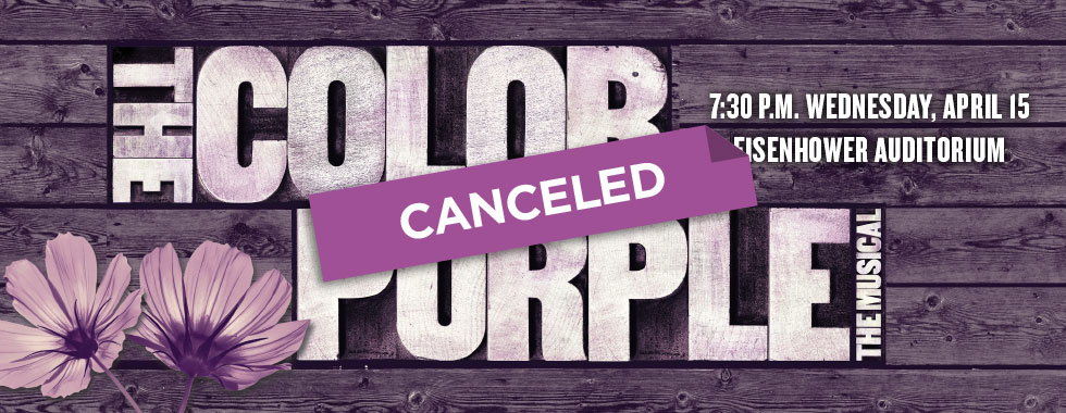 The Color Purple is canceled.