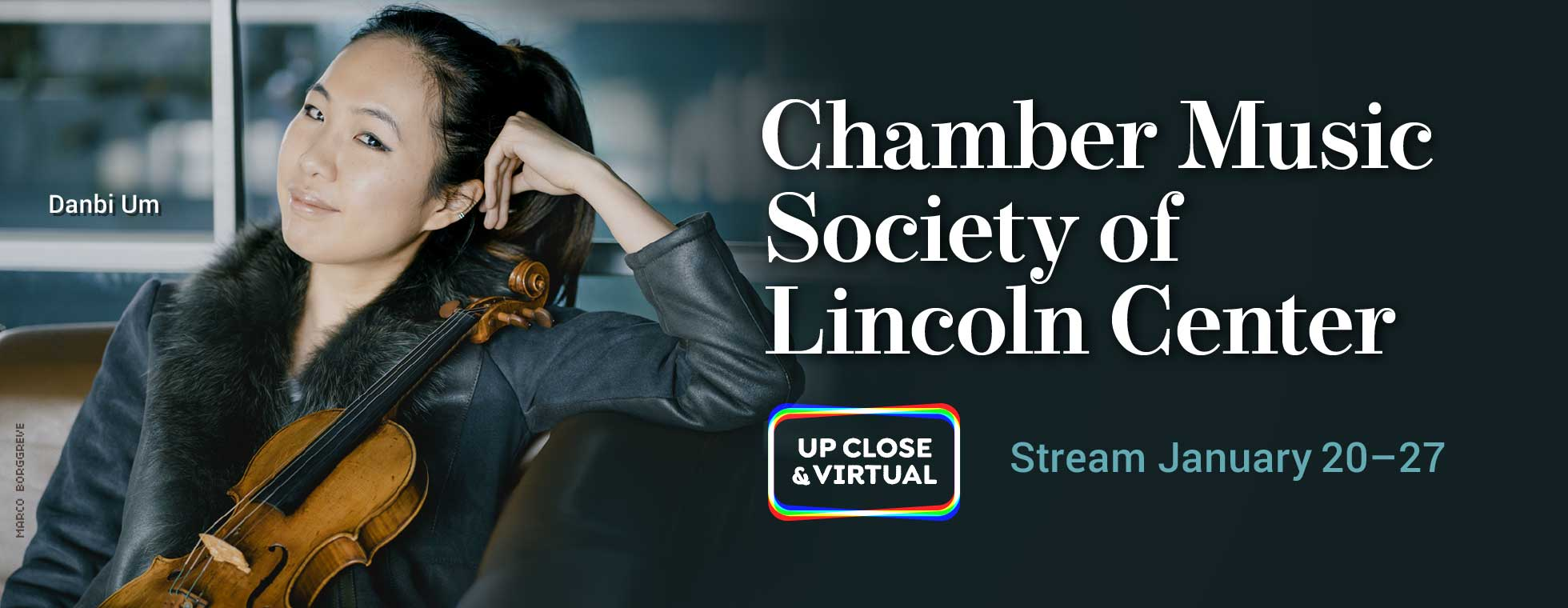 Chamber Music Society of Lincoln Center stream January 20–27, 2021
