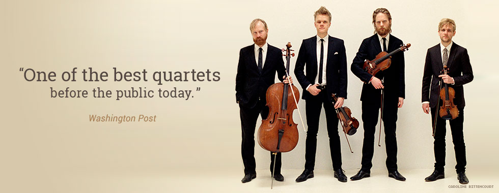 """""""One of the best quartets before the public today."""" Washington Post"""