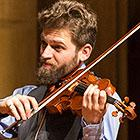 Johnny Gandlesman plays the violin